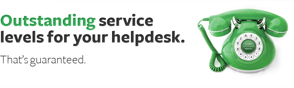 Outsourcing help desk services