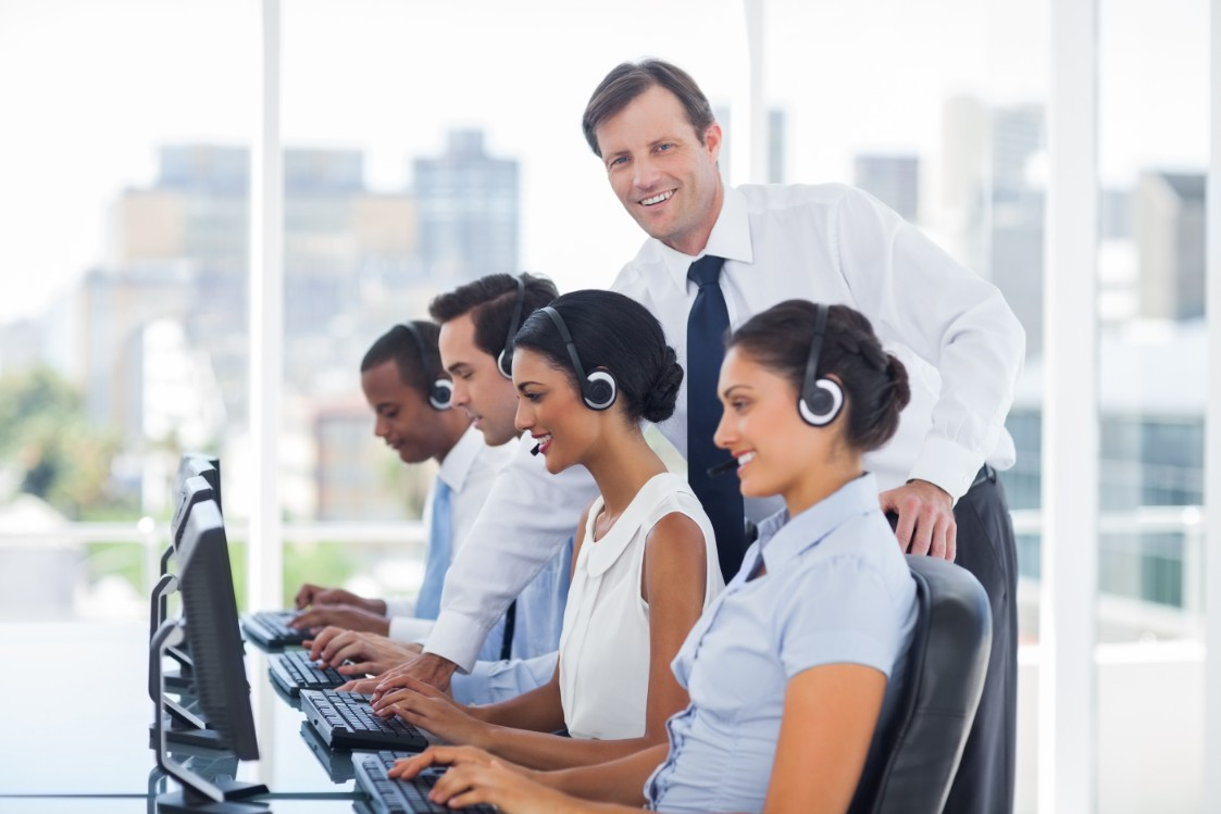 services in call center