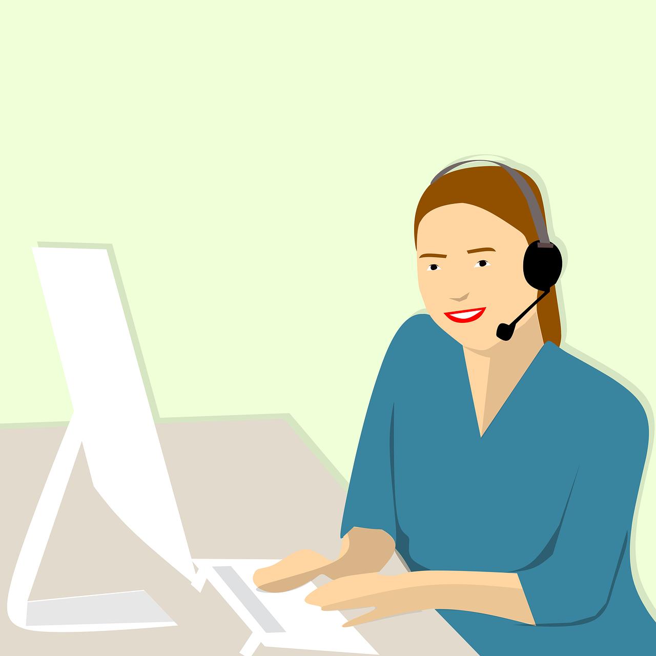 soft spoken call center agent